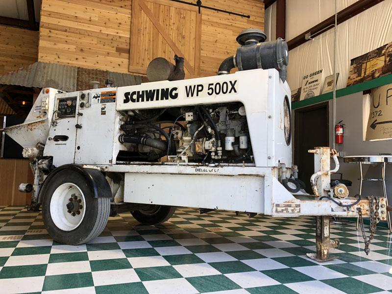 1999 Schwing WP500x